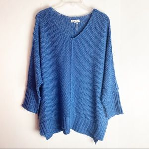 New Anthropologie Oversized Dolman Sleeves Sweater
